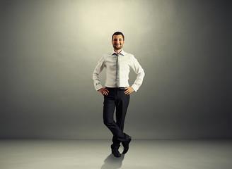 handsome successful businessman