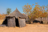 Rural African hut, Caprivi region