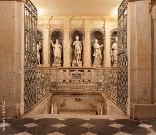 San gavino, Crypte, Sardaigne