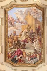 Fresque de la cathédrale de Cagliari, Sardaigne