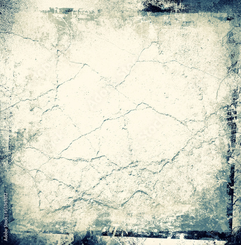 Grunge cracked frame