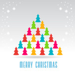 Trees Christmas Tree Color Vector
