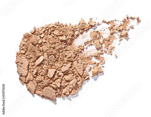 powder brush make up beauty - 55974238