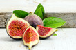 Figs with leaves