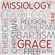 Missiology Word Cloud Concept