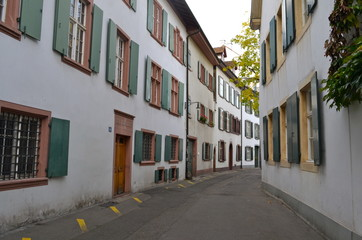 Basel old town in Autumn