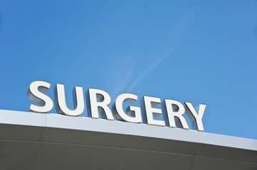 Outpatient Surgery Sign