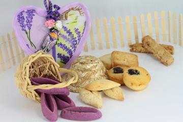 biscuits violets