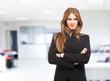Attractive businesswoman portrait