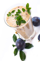 plum smoothie