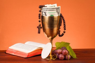 christianity and dollar money