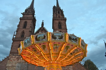 Merry go round, Basel Autumn Fair