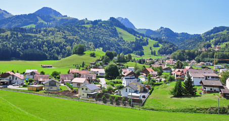 panorama of Gruyere