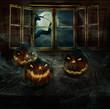 Halloween Design - Abandoned pumpkins