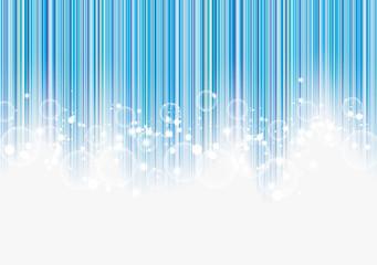 starts on blue stripes background