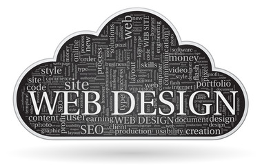 web design tagcloud