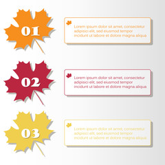 autumn infographic