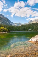 Beautiful Lake in High Tatra of Slovakia