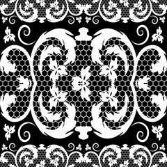 vector vintage lace