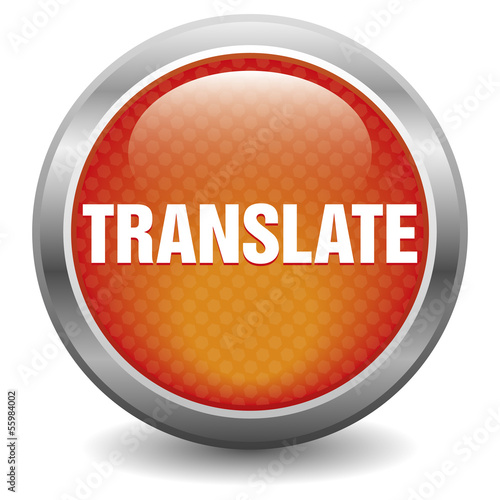 Red translate icon