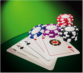 Casino. Vector.