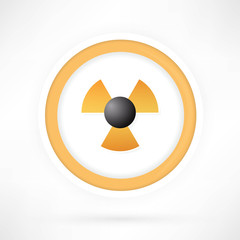 Vector radiation symbol