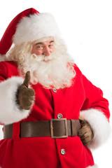Portrait of happy Santa Claus
