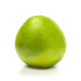 Pomelo, isolated on a white background
