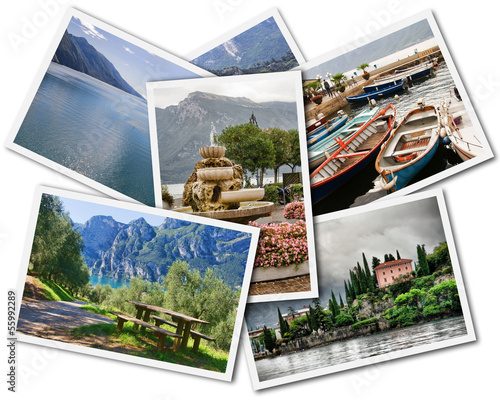 Lake Garda Collage