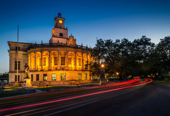 Coral Gables City Hall at Night
