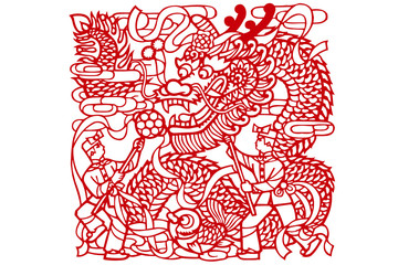 traditional paper cut of china