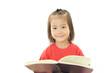 本を持つ女の子