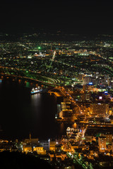 函館ベイエリアの夜景