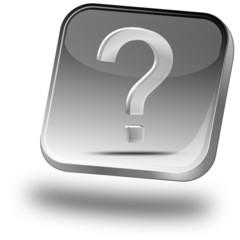 Button mit Fragezeichen