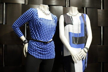 Stock image of mannequins