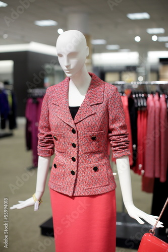 Female business mannequin
