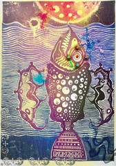 Psychedelic holy fish