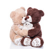 Teddybären - Familie mit Mutter, Vater und Kind