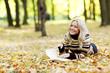 woman read in park