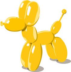 Chien_ballon_jaune