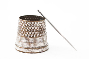 Tailor's Thimble and needle