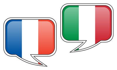 French-Italian Conversation