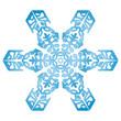 Eisblume, Eiskristall, Eis, Symbol, Zeichen, Winter, Flocke, 2D