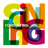 Vector Consulting. Broken text