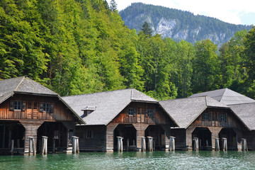 Timber Boat Sheds