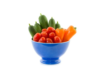 bowl with colorful vegetables