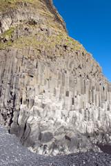spiaggia delle canne d'organo a Vik in Islanda