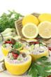gefüllte Zitronen