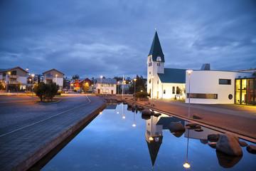 Hafnarfjordur , Iceland.
