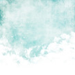 Water color like cloud on old paper texture background - 56008694